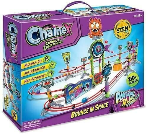 Chainex - BOUNCING IN SPACE - 210 Pieces -  Multi Experiments